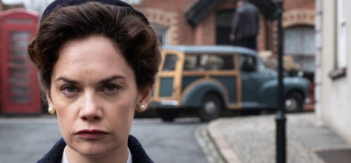 "Ruth Wilson in ""Mrs. Wilson"" (Photo: Courtesy of BBC/MASTERPIECE)"