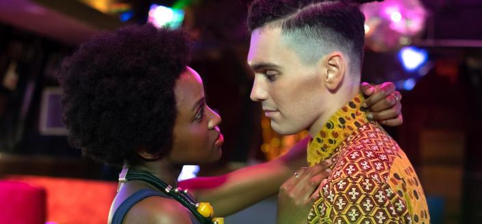 "Our star-crossed ""Noughts and Crosses"" duo Photo: BBC/Mammoth Screen"