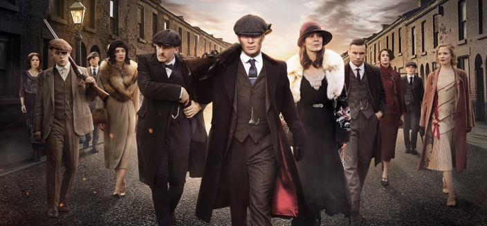 "The ""Peaky Blinders' Season 4 cast shot is amazingly dramatic (Photo: BBC)"