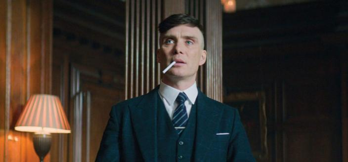 "Cillian Murphy as Tommy Shelby in ""Peaky Blinders"" (Photo: Netflix)"