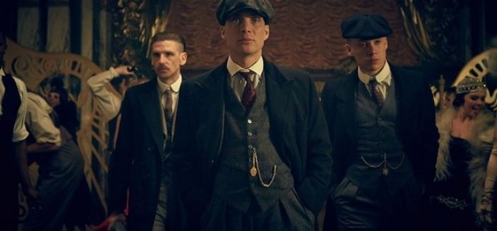 "The men of ""Peaky Blinders"". (Photo: BBC)"