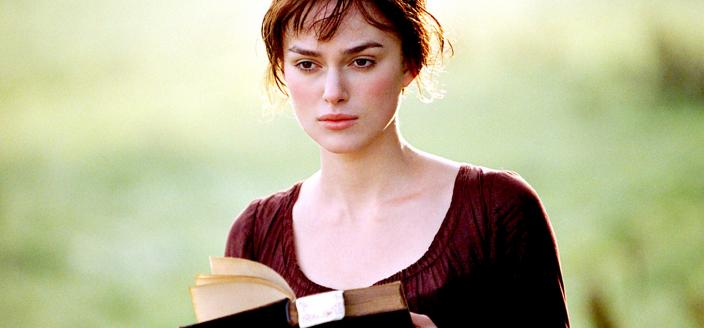 "Keira Knightley as Elizabeth Bennet in ""Pride and Prejudice"" (Credit: Focus Features)"