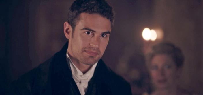 "Theo James  in ""Sanditon"" (Photo: Courtesy of Photographer: Simon Ridgway/© Red Planet Pictures / ITV 2019)"