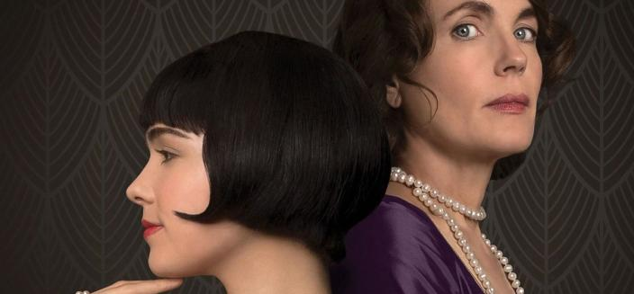 "Elizabeth McGovern and Hayley Lu Richardson in ""The Chaperone"" (Photo Credit: Masterpiece Films)"