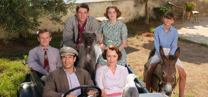 """The cast of """"The Durrells in Corfu""""  (Photo Credit: Courtesy of Joss Barratt for Sid Gentle Films & MASTERPIECE)"""