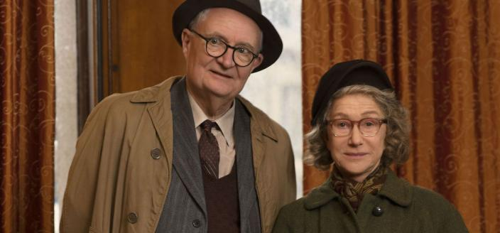 """Helen Mirren and Jim Broadbent in """"The Duke"""" (Photo: Sony Pictures Classics)"""