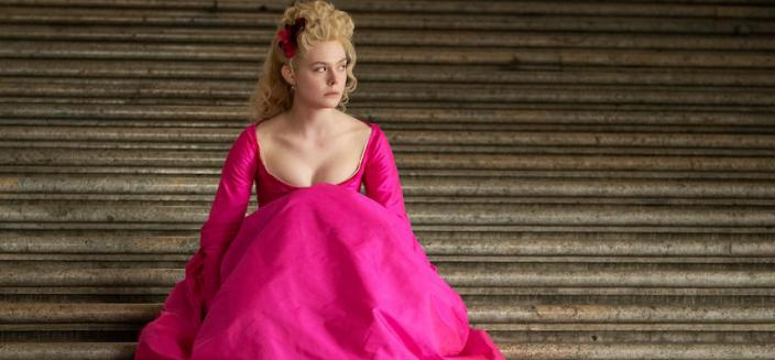 "Elle Fanning in ""The Great"" (Photo: Hulu)"