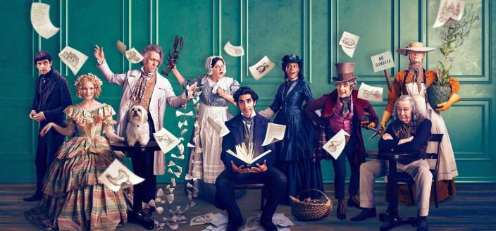 "The cast of ""The Personal History of David Copperfield"" (Photo: FOX Searchlight Pictures)"