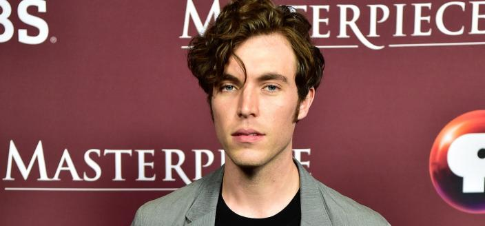 "Tom Hughes at a ""Victoria"" Masterpiece event (Photo: Rahoul Ghose/PBS)"