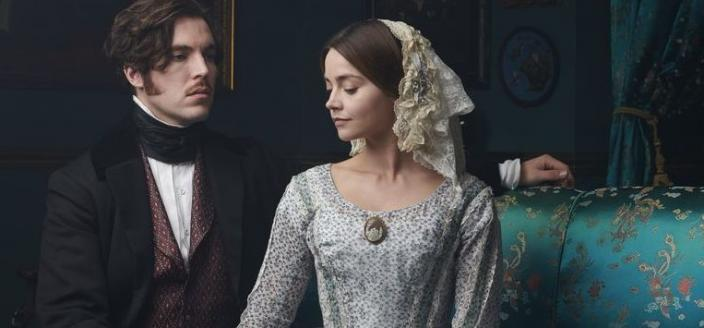 "Jenna Coleman and Tom Hughes in ""Victoria"" Season 3 (Photo: ITV)"