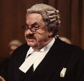 Leo McKern as Rumpole of the Bailey (Image: Courtesy of Thames Television)
