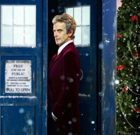 How spiffy is Twelve's new holiday outfit? (Photo: BBC)
