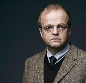 """Toby Jones in a publicity shot from one of his more recent roles on FOX's """"Wayward Pines"""". (Photo: FOX/FOX Broadcasting)"""